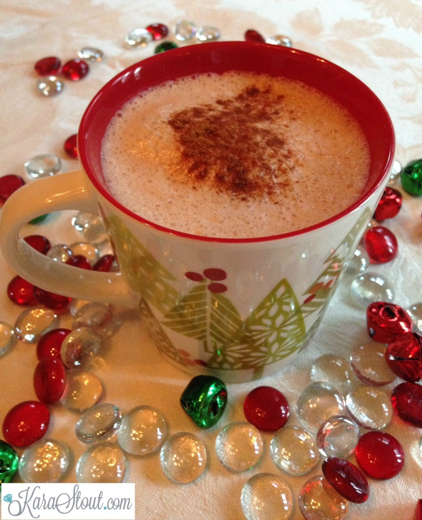 Gingerbread chai tea latte Christmas mug