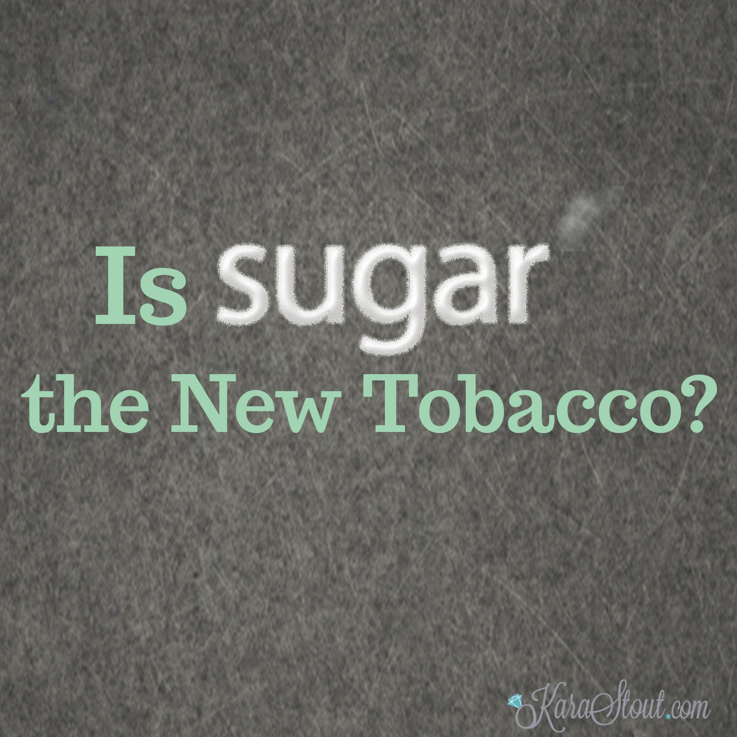 Is Sugar the New Tobacco?