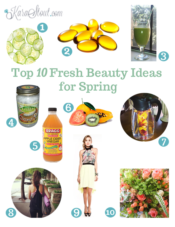 Top 10 fresh beauty ideas for Spring
