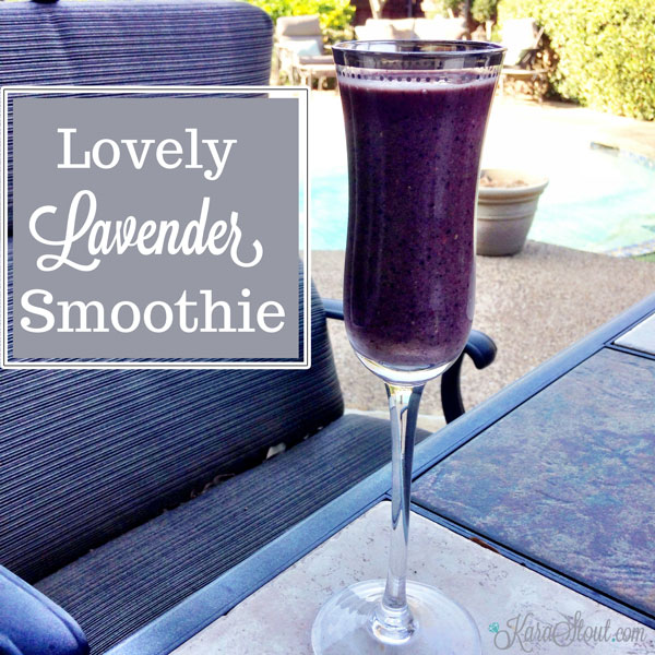 Lovely Lavender Smoothie