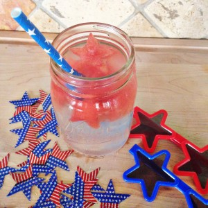 watermelon star ice cubes