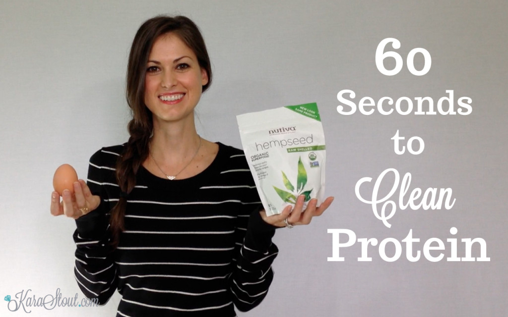 60 Seconds to Clean Protein