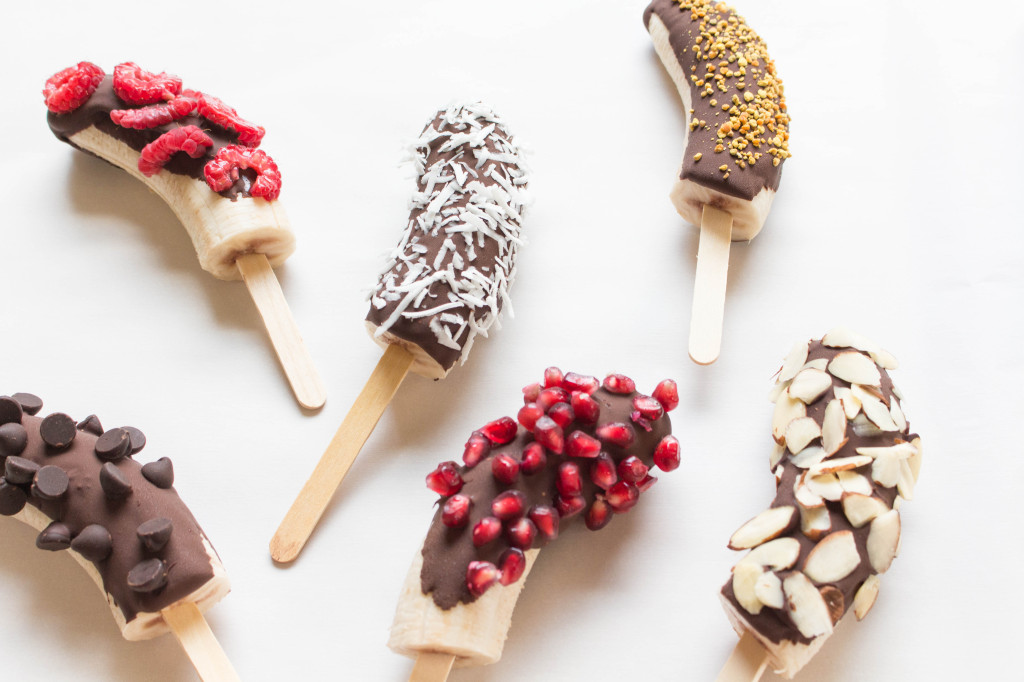 Chocolate-Covered Banana Pops | Dallas Nutritionist | Nutrition By ...