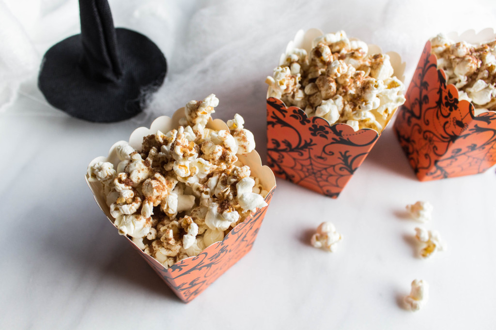 Pumpkin Spiced Popcorn detail photo