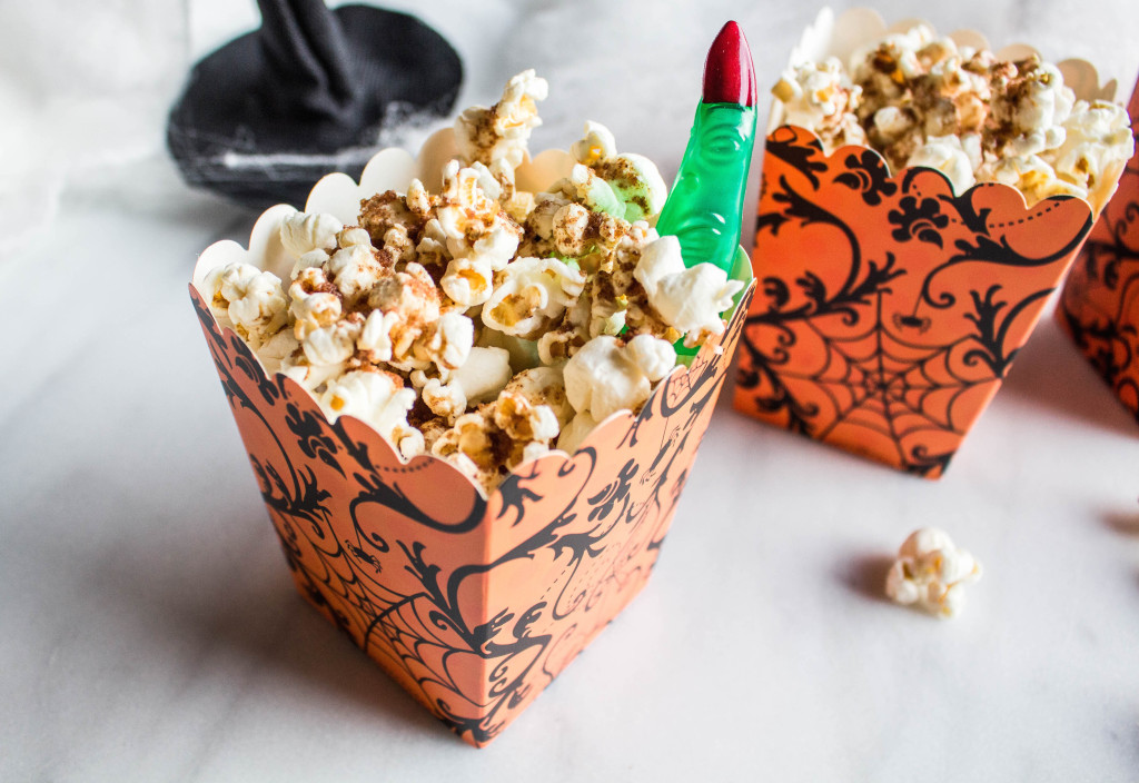 Pumpkin spiced popcorn
