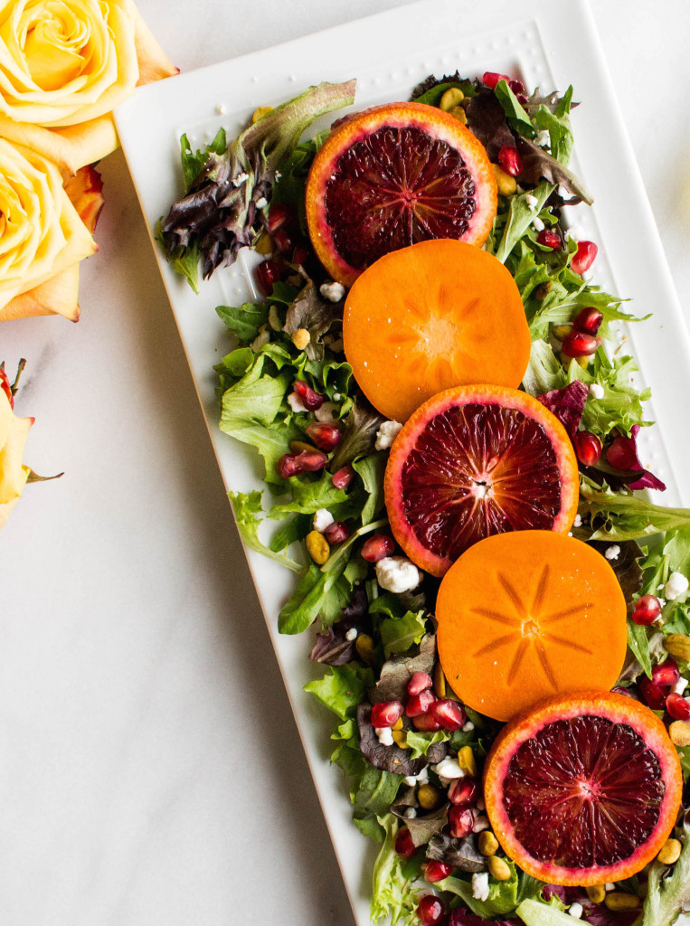 Thanksgiving Blood Orange Salad
