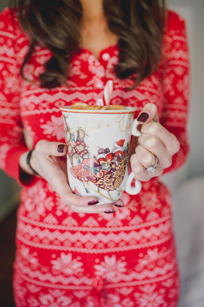 Hot Cocoa and Christmas pjs