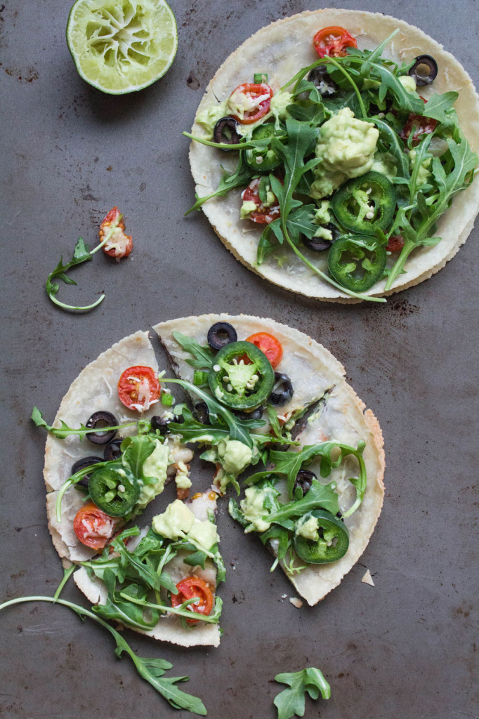 Healthy Gluten-Free Mexican Pizzas