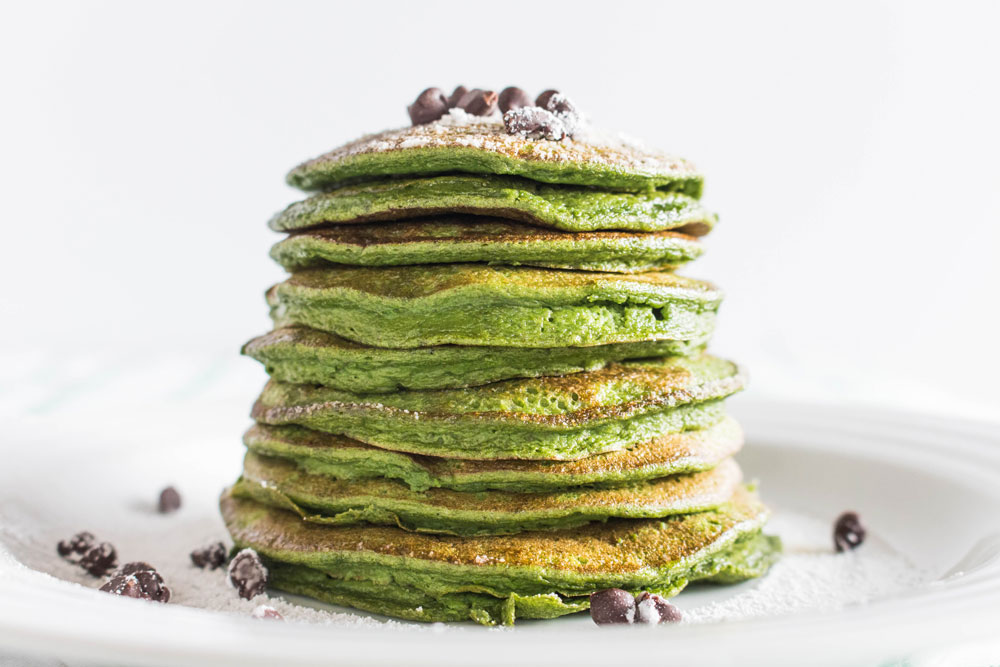 St. Patrick's Day Pancakes