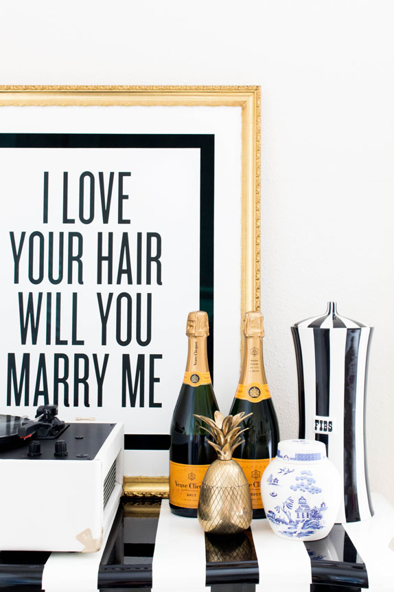 I Love Your Hair Will You Marry Me photo