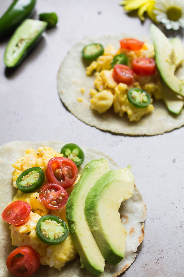Gluten-free breakfast tacos photo