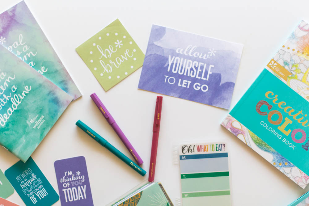 Erin Condren Design compliment cards and coloring book