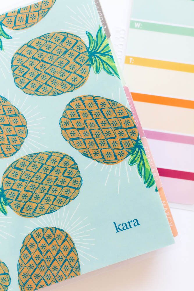 pineapple LifePlanner