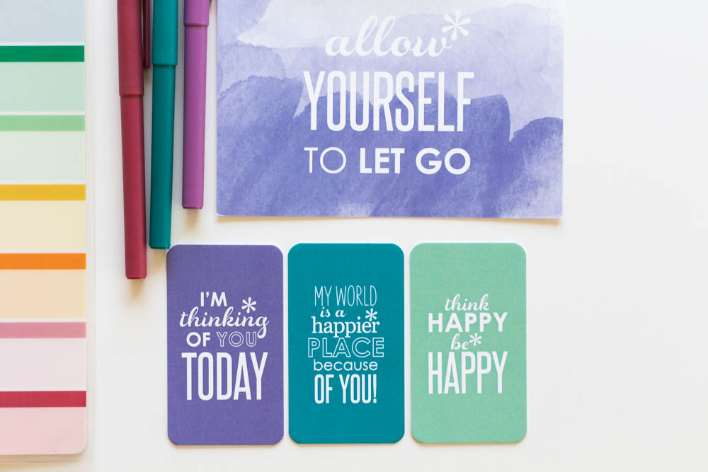 Erin Condren Design compliment cards