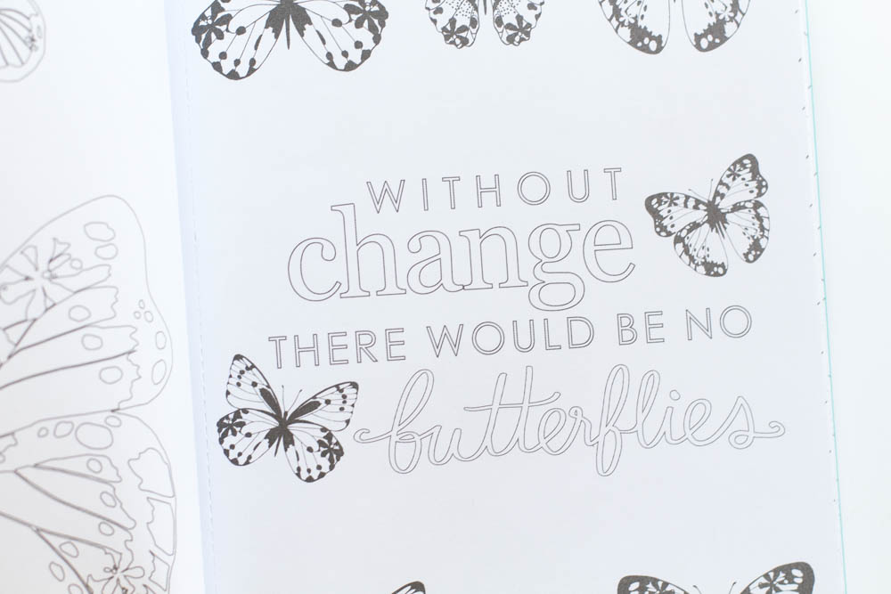 Erin Condren Design without change there would be no butterflies