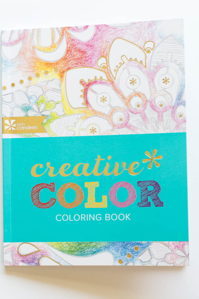 Erin Condren Design Adult Coloring Book