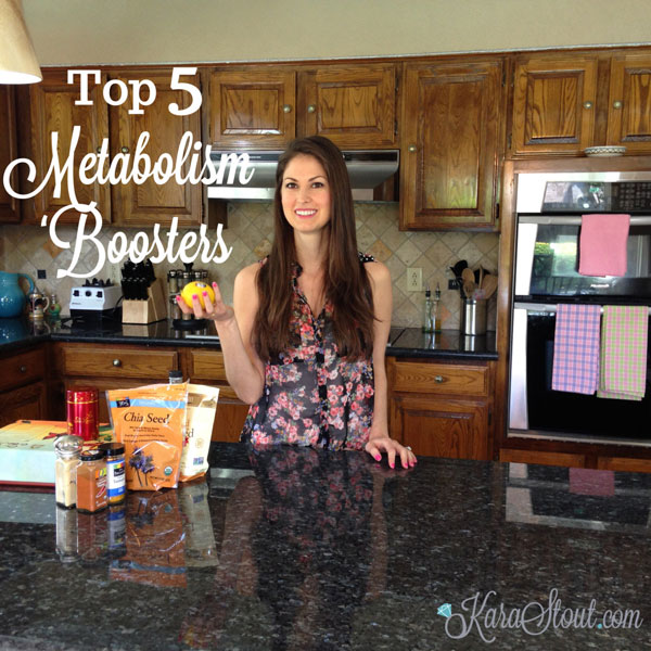 Top 5 Metabolism Boosters