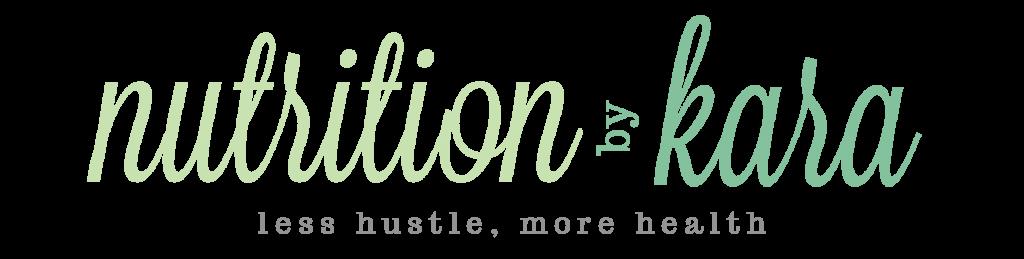 Nutrition By Kara Logo